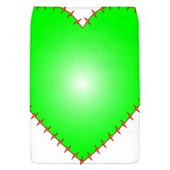 Heart Rhythm Inner Green Red Flap Covers (S)