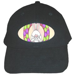 Make An Easter Egg Wreath Rabbit Face Cute Pink White Black Cap