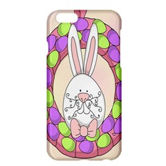 Make An Easter Egg Wreath Rabbit Face Cute Pink White Apple iPhone 6 Plus/6S Plus Hardshell Case