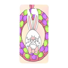 Make An Easter Egg Wreath Rabbit Face Cute Pink White Samsung Galaxy Alpha Hardshell Back Case