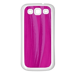 Abstraction Samsung Galaxy S3 Back Case (White)