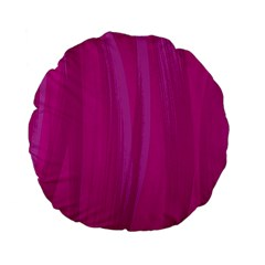 Abstraction Standard 15  Premium Flano Round Cushions