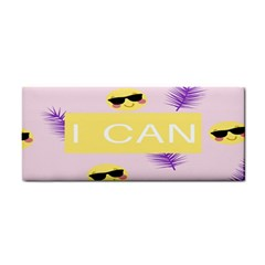 I Can Purple Face Smile Mask Tree Yellow Cosmetic Storage Cases