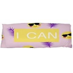 I Can Purple Face Smile Mask Tree Yellow Body Pillow Case Dakimakura (Two Sides)