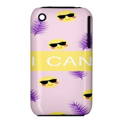 I Can Purple Face Smile Mask Tree Yellow iPhone 3S/3GS