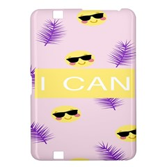 I Can Purple Face Smile Mask Tree Yellow Kindle Fire HD 8.9