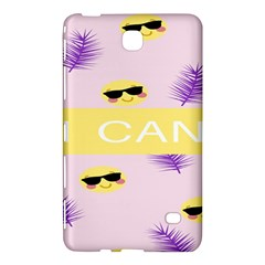 I Can Purple Face Smile Mask Tree Yellow Samsung Galaxy Tab 4 (8 ) Hardshell Case