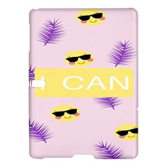 I Can Purple Face Smile Mask Tree Yellow Samsung Galaxy Tab S (10.5 ) Hardshell Case
