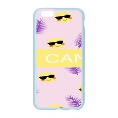 I Can Purple Face Smile Mask Tree Yellow Apple Seamless iPhone 6/6S Case (Color)