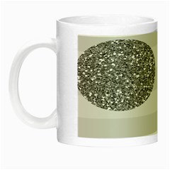 Polkadot Circle Round Line Red Pink Grey Diamond Night Luminous Mugs