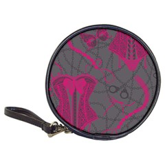 Pink Black Handcuffs Key Iron Love Grey Mask Sexy Classic 20-CD Wallets