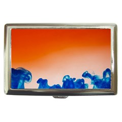 Simulate Weather Fronts Smoke Blue Orange Cigarette Money Cases