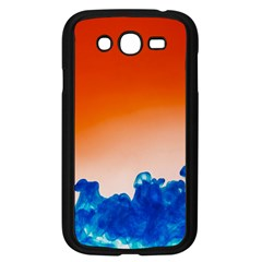 Simulate Weather Fronts Smoke Blue Orange Samsung Galaxy Grand DUOS I9082 Case (Black)
