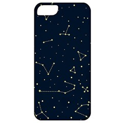 Star Zodiak Space Circle Sky Line Light Blue Yellow Apple iPhone 5 Classic Hardshell Case