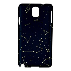 Star Zodiak Space Circle Sky Line Light Blue Yellow Samsung Galaxy Note 3 N9005 Hardshell Case