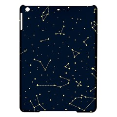 Star Zodiak Space Circle Sky Line Light Blue Yellow iPad Air Hardshell Cases