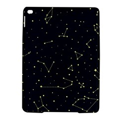 Star Zodiak Space Circle Sky Line Light Blue Yellow iPad Air 2 Hardshell Cases