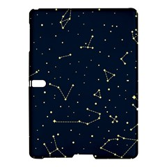 Star Zodiak Space Circle Sky Line Light Blue Yellow Samsung Galaxy Tab S (10.5 ) Hardshell Case