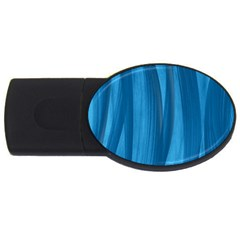 Abstraction USB Flash Drive Oval (1 GB)