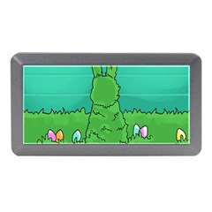 Rabbit Easter Green Blue Egg Memory Card Reader (Mini)