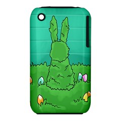 Rabbit Easter Green Blue Egg iPhone 3S/3GS