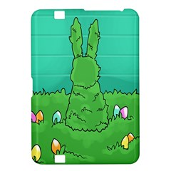 Rabbit Easter Green Blue Egg Kindle Fire HD 8.9
