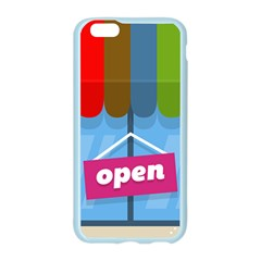 Store Open Color Rainbow Glass Orange Red Blue Brown Green Pink Apple Seamless iPhone 6/6S Case (Color)
