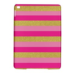 Pink Line Gold Red Horizontal iPad Air 2 Hardshell Cases