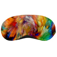 Rainbow Color Splash Sleeping Masks