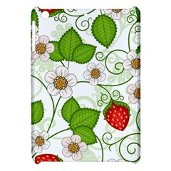 Strawberry Fruit Leaf Flower Floral Star Green Red White Apple iPad Mini Hardshell Case