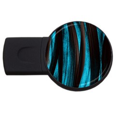 Abstraction USB Flash Drive Round (2 GB)