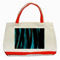 Abstraction Classic Tote Bag (Red)