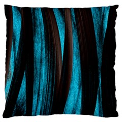 Abstraction Large Flano Cushion Case (One Side)