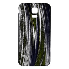 Abstraction Samsung Galaxy S5 Back Case (White)