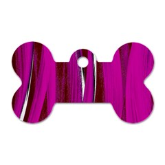 Abstraction Dog Tag Bone (Two Sides)