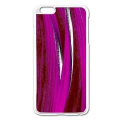 Abstraction Apple iPhone 6 Plus/6S Plus Enamel White Case