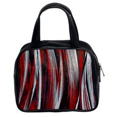 Abstraction Classic Handbags (2 Sides)