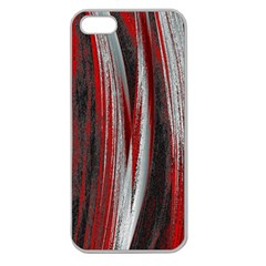 Abstraction Apple Seamless iPhone 5 Case (Clear)