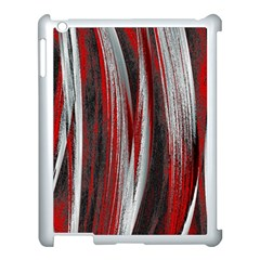 Abstraction Apple iPad 3/4 Case (White)