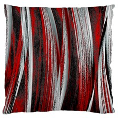Abstraction Large Flano Cushion Case (Two Sides)