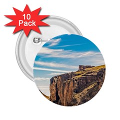 Rocky Mountains Patagonia Landscape   Santa Cruz   Argentina 2.25  Buttons (10 pack)