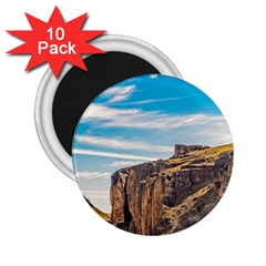 Rocky Mountains Patagonia Landscape   Santa Cruz   Argentina 2.25  Magnets (10 pack)