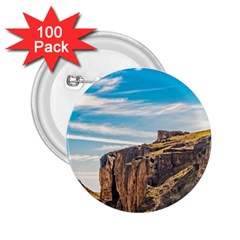 Rocky Mountains Patagonia Landscape   Santa Cruz   Argentina 2.25  Buttons (100 pack)