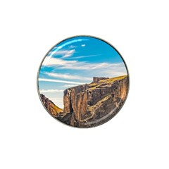 Rocky Mountains Patagonia Landscape   Santa Cruz   Argentina Hat Clip Ball Marker (10 pack)
