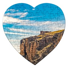 Rocky Mountains Patagonia Landscape   Santa Cruz   Argentina Jigsaw Puzzle (Heart)