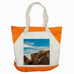 Rocky Mountains Patagonia Landscape   Santa Cruz   Argentina Accent Tote Bag