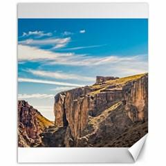 Rocky Mountains Patagonia Landscape   Santa Cruz   Argentina Canvas 16  x 20