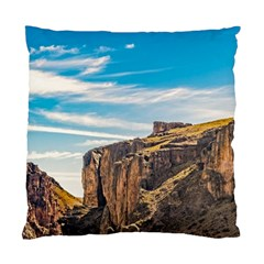 Rocky Mountains Patagonia Landscape   Santa Cruz   Argentina Standard Cushion Case (One Side)