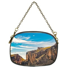 Rocky Mountains Patagonia Landscape   Santa Cruz   Argentina Chain Purses (Two Sides)