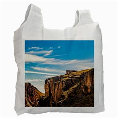 Rocky Mountains Patagonia Landscape   Santa Cruz   Argentina Recycle Bag (Two Side)